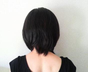 髪切った090815